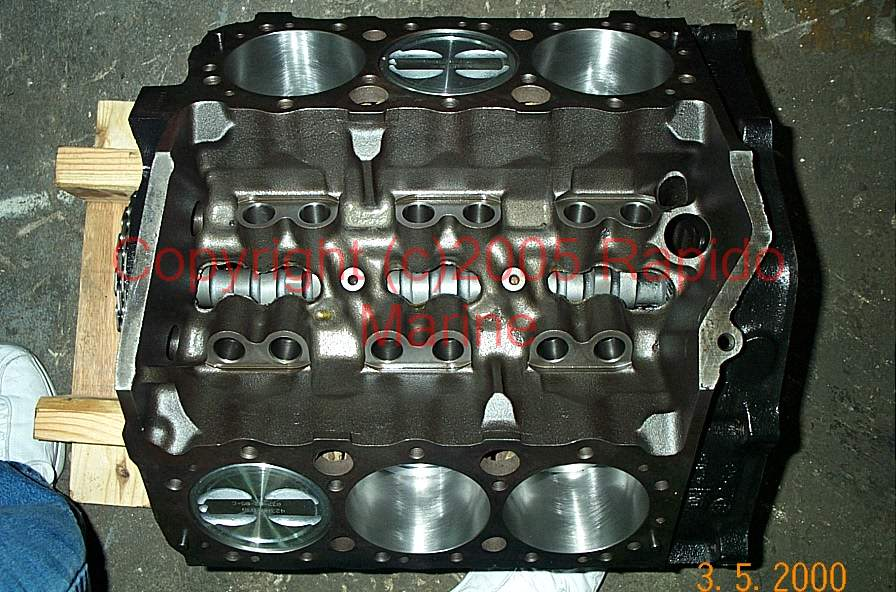 Engines motors Long Block mercruiser OMC Volvo Penta